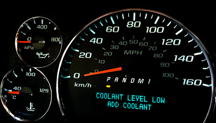 Porsche Coolant Level Low Warning