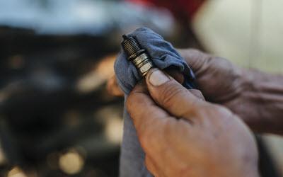 Audi Spark Plug Check