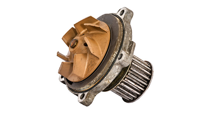 Porsche Worn Out Water Pump
