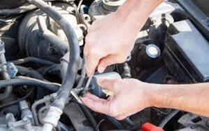 Car Fuel Filter Change