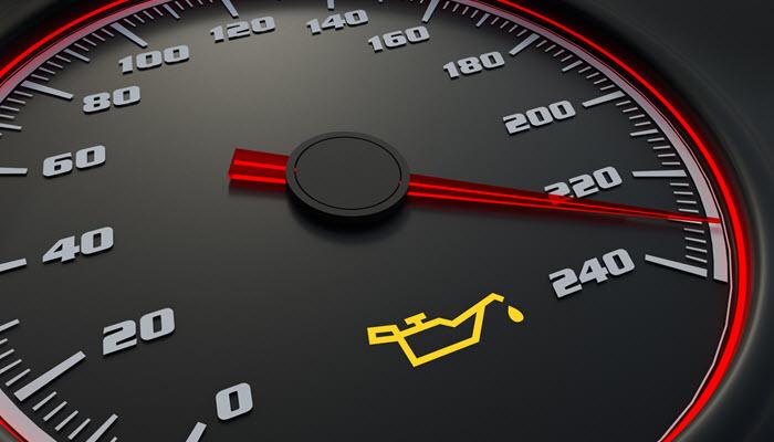 Porsche Oil Light